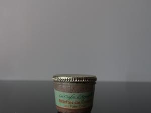 Rilettes de canard au foie gras Les Confits d'Arguibelle